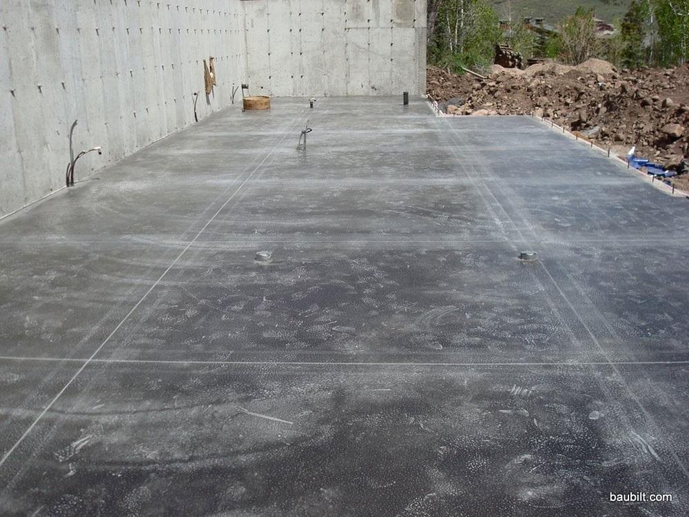 Concrete Floor That Slopes